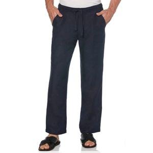 Cubavera Big and Tall Drawstring Linen 1XB Pants